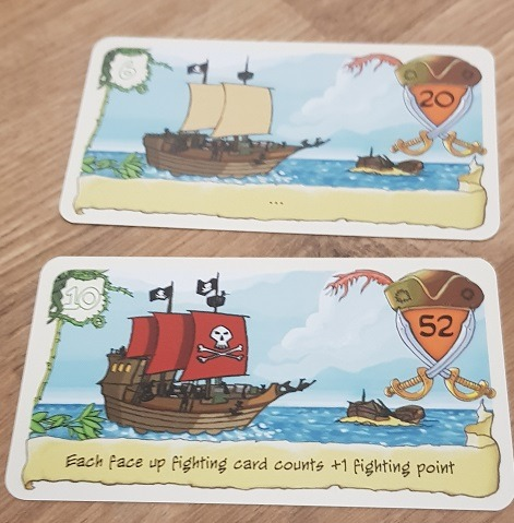 friday board game review pirates