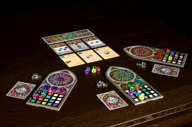top 10 family board games sagrada on table