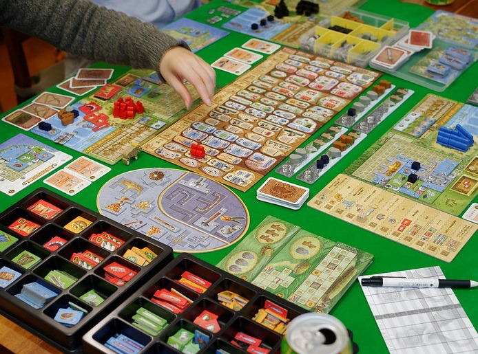 best viking board games a feast for odin layout overview