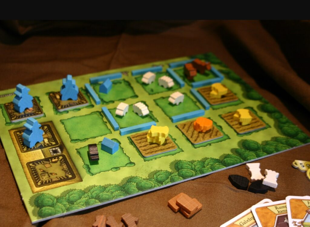 Agricola Revised Edition Board Game Review Sheep Player Board