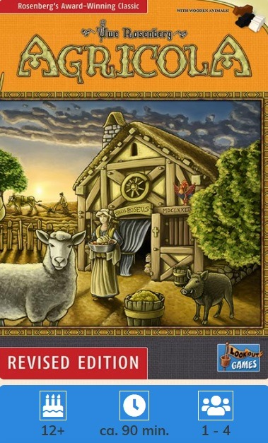 Agricola Revised Edition Board Game Review Box