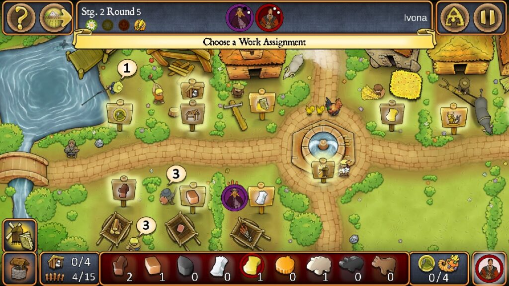 Agricola Revised Edition Board Game Review Sheep Digital Edition Workers