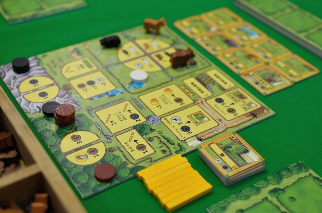 Agricola: All Creatures Big and Small - Review Action Board