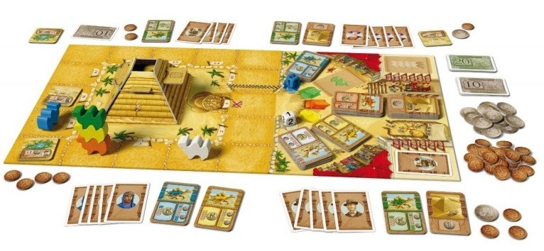 Top 10 Christmas Board Games Camel Up Board