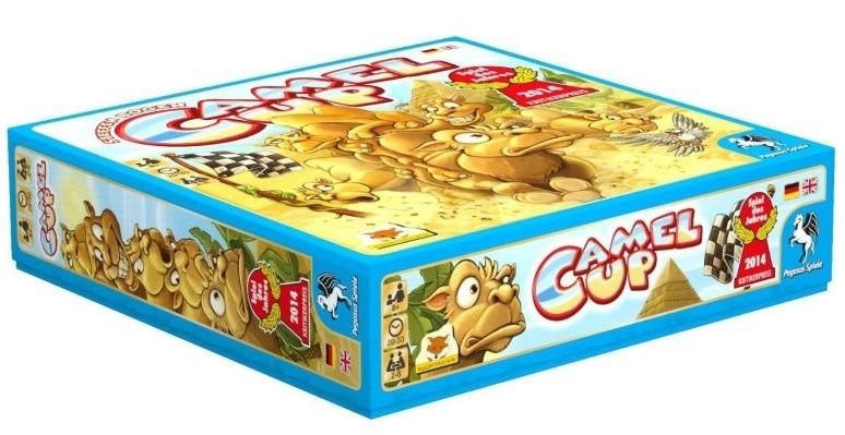 Top 10 Christmas Board Games Camel Up Box