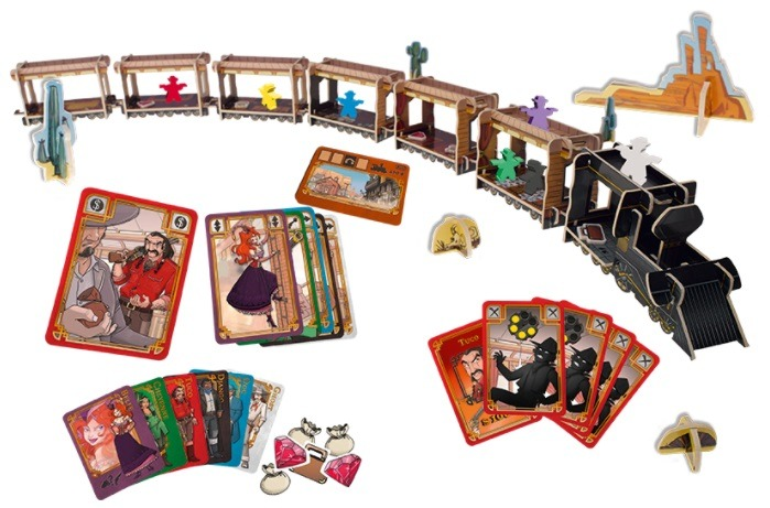 Top 10 Christmas Board Games Colt Express Train
