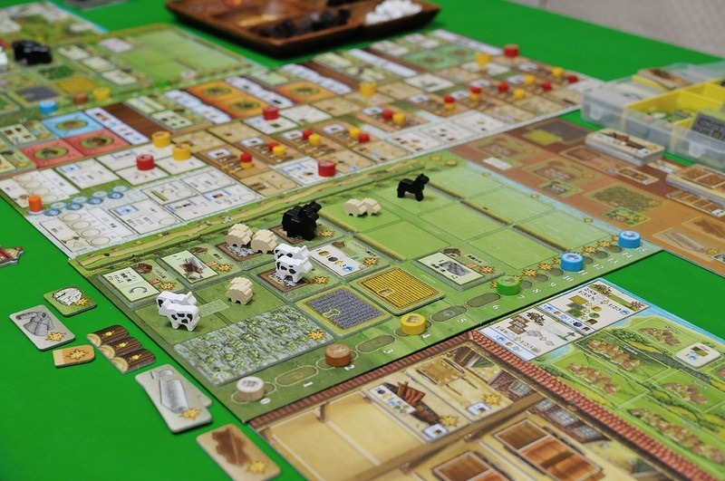 Best Solo Board Games Fields of Arle Large Overview