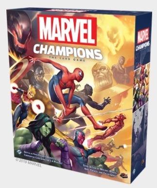 Best Solo Board Games Marvel Champions Box