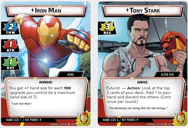 Best Solo Board Games Marvel Champions Iron Man