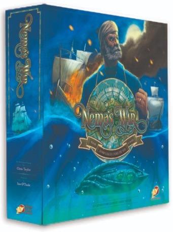 Best Solo Board Games Nemo's War Box