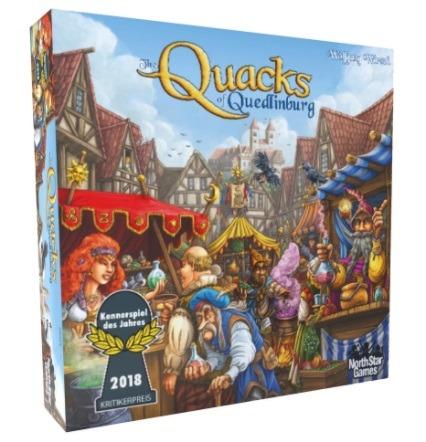 Top 10 Christmas Board Games The Quacks of Quedlinburg Box