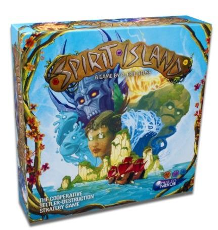 Best Solo Board Games Spirit Island Box