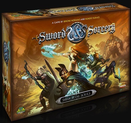 best dungeon crawler board games sword and sorcery box