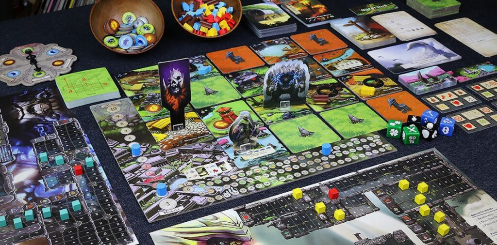 Best Solo Board Games The City of Kings Board Overview