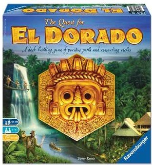 Top 10 Christmas Board Games The Quest for El Dorado Box