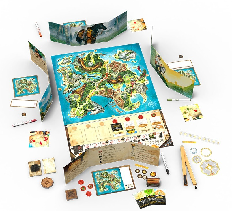 Top 10 Christmas Board Games Treasure Island Setup