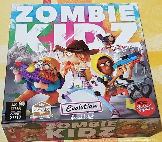 Zombie Kidz Evolution Review Box