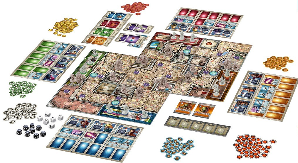 best dungeon crawler board games arcadia quest board