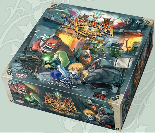 best dungeon crawler board games arcadia quest box