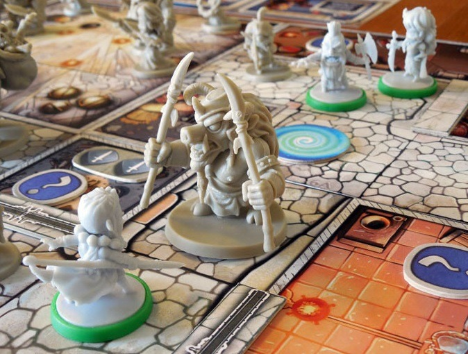 best dungeon crawler board games arcadia quest miniatures