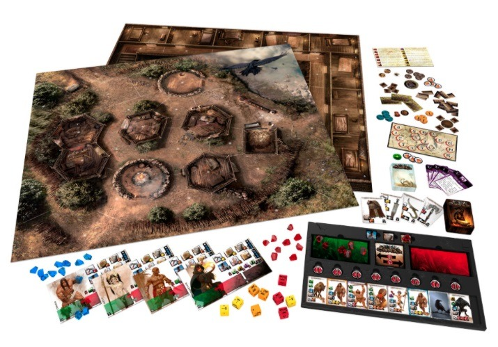 best dungeon crawler board games conan components
