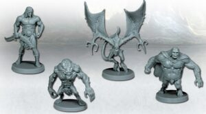 best dungeon crawler board games conan minatures