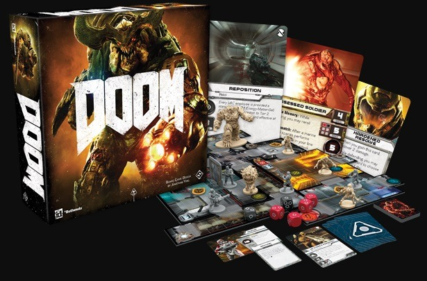best dungeon crawler board games doom board game box