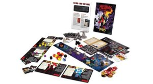 best dungeon crawler board games hellboy components