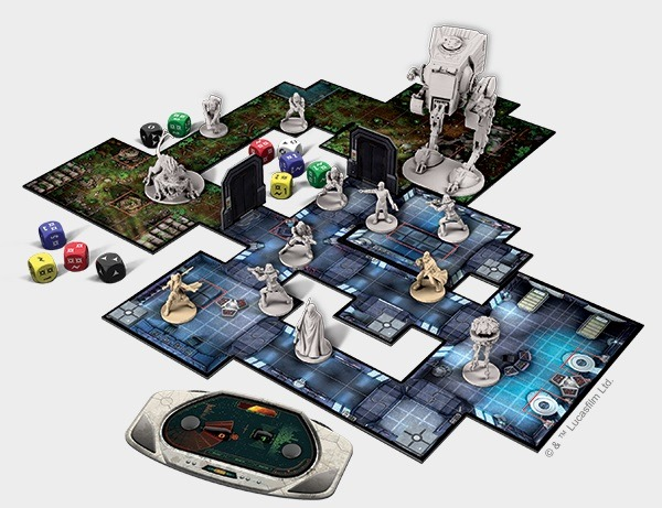 Best Adventure Board Games Star Wars Imperial Assault Layout Overview