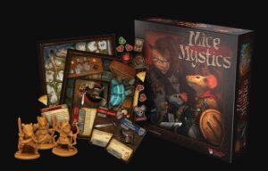 best dungeon crawler board games mice mystics box