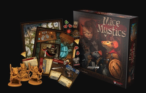 best dungeon crawler board games mice mystics box