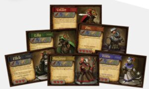 best dungeon crawler board games mice mystics characters