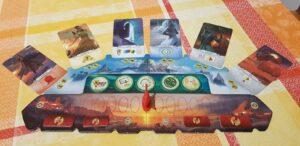 7 Wonders Duel Pantheon Expansion Pantheon Board