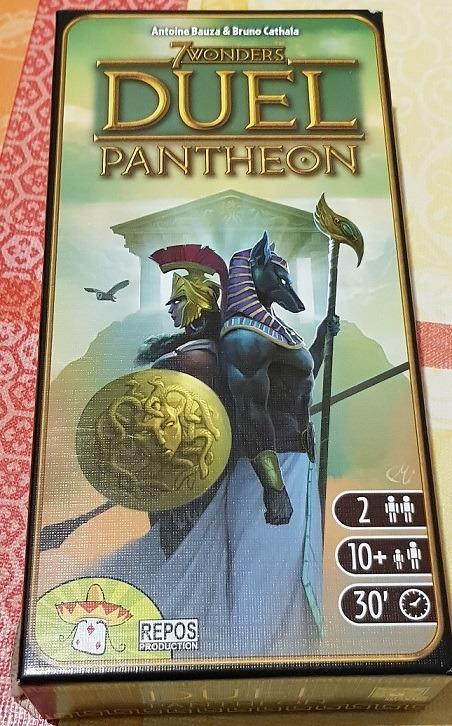 7 Wonders Duel Pantheon Expansion Box