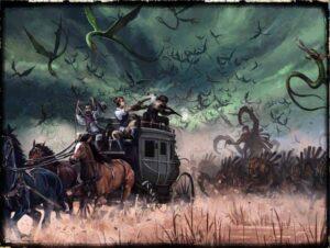best dungeon crawler board games shadows of brimstone art