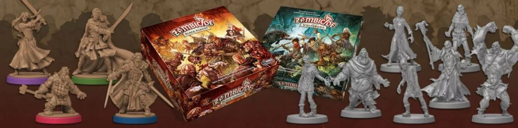 best dungeon crawler board games zombicide boxes