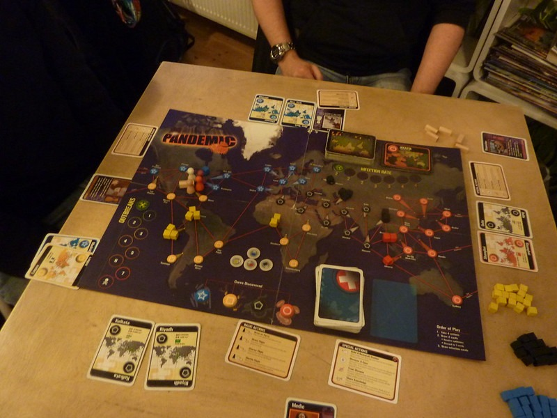 Most Popular Board Games Pandemic Board Overview