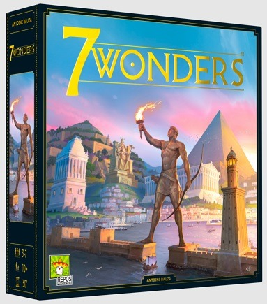 Most Popular Board Games 7 Wonders Box