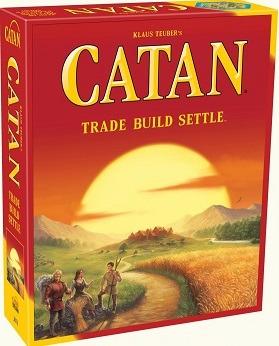 Most Popular Board Games Catan Box