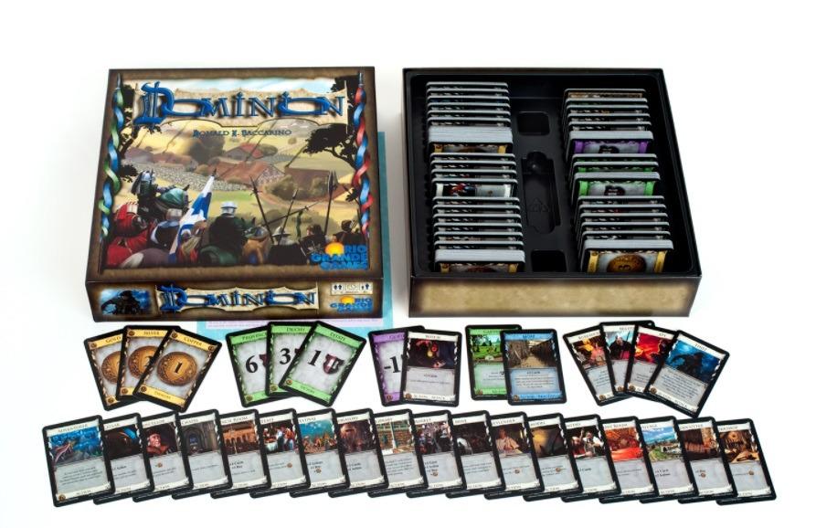 Most Popular Board Games Dominion Components