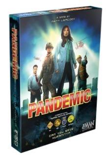 Most Popular Board Games Pandemic Box