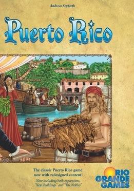 Most Popular Board Games Puerto Rico Box