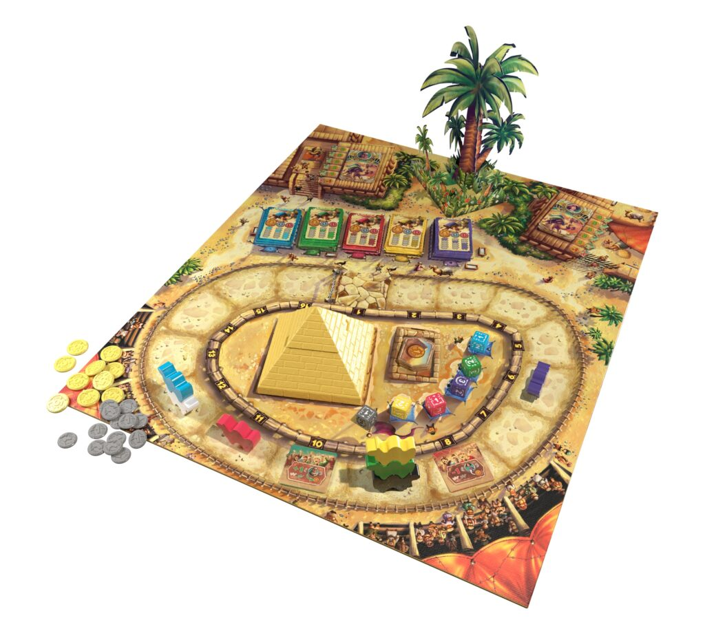 camel up review 2nd edition board