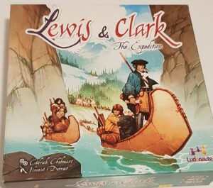 Lewis & Clark Board Game Review Box