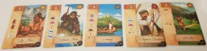 Lewis & Clark Board Game Review Layout Cards
