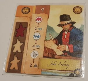 Lewis & Clark Board Game Review Layout Commander Card
