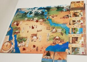 Lewis & Clark Board Game Review Layout Overview