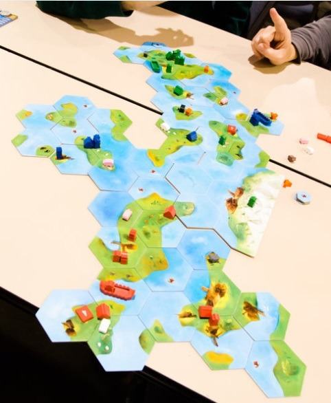 best viking board games explorers of the north sea layout overview