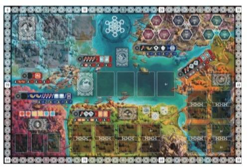best viking board games reavers of midgard game board