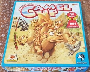 Camel Up Review 1st ed box